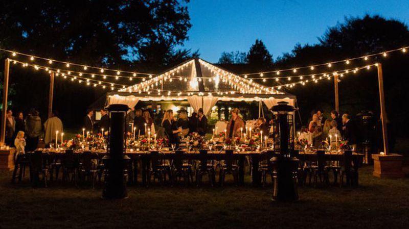Outdoor-wedding-string-lights